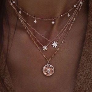 Constellation ☆ Star Multi Layer Dainty Necklace
